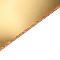 Gold Mirrored Acrylic Sheets
