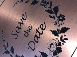 Flexline Rose Gold Laser Engraving Detail
