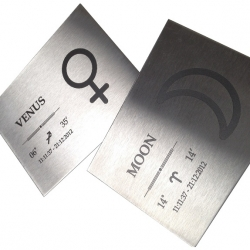 Laser marked Stainless Steel labels