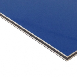 Abet Hard Engraving Laminate Blue/White/Blue