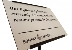 External Laminate Engraved Sign