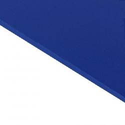 Reverse Laminate Gloss Clear Surface, Blue Base