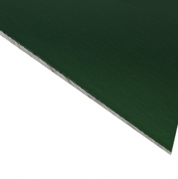 Laserable Anodised Aluminium Sheet, Gloss Green