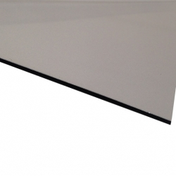 Flexline Laser Laminate Gloss Silver Surface, Black Base