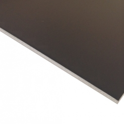 Anodised Aluminium Sheet, Black AA15