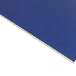 Laserable Anodised Aluminium Sheet, Matt Blue