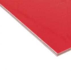 Abet Hard Engraving Laminate Red/White/Red