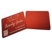 Gloss Red Business Cards