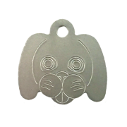 Pet Tags, Dog, Anodised Aluminium (Pack of 10)