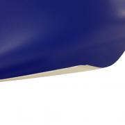 Laserfoil Matt Blue Surface, White Base