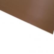 Micro Metallic Laminate Brushed Bronze Surface, White Base