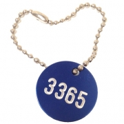 Ball Chain with Valve Tag