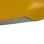 Laserfoil Matt Safety Yellow Surface, Black Base