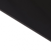 Reverse Laminate Gloss Clear Surface, Black Base