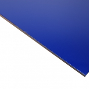 Laserable Anodised Aluminium Sheet, Gloss Blue, AA15