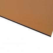 Micro Metallic Laminate Gloss Gold Surface, Black Base