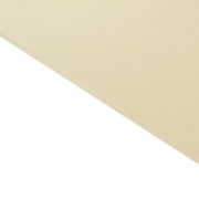 Reverse Laminate Gloss Clear Surface, Ivory Base