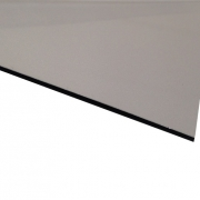 Micro Metallic Laminate Gloss Silver Surface, Black Base