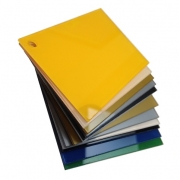 Reverse Gloss Yellow Laminate
