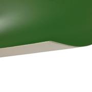 Laserfoil Matt Green Surface, White Base