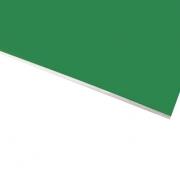 Micro Laminate Matt Light Green Surface, White Base