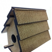 Laser Friendly MDF Birdhouse