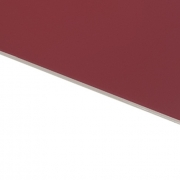 Flexline Laser Laminate Matt Burgundy Surface, White Base