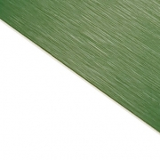 Brushed (Satin) Laminate Green Surface, White Base