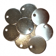 Nickel plated Dog Discs (Pack of 10)