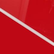 External Laminate 3ply Gloss Red/White/Matt Red