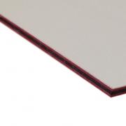 Abet Hard Engraving Laminate White/Red/White