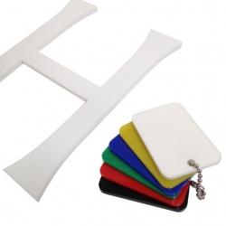 White Acrylic Swatches