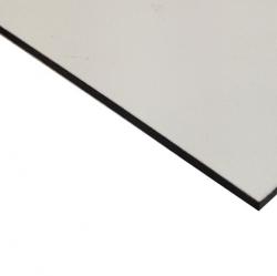 Abet Hard Engraving Laminate White/Black/White