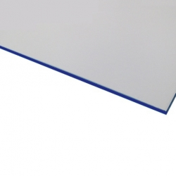 Flexline Laser Laminate White Surface, Blue Base