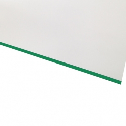Micro Laminate Matt White Surface, Green Base