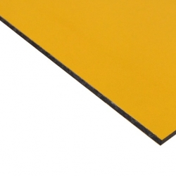 Abet Hard Engraving Laminate Yellow/Black/Yellow